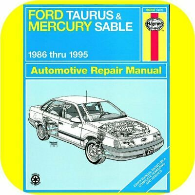 2002 mercury sable repair manual pdf
