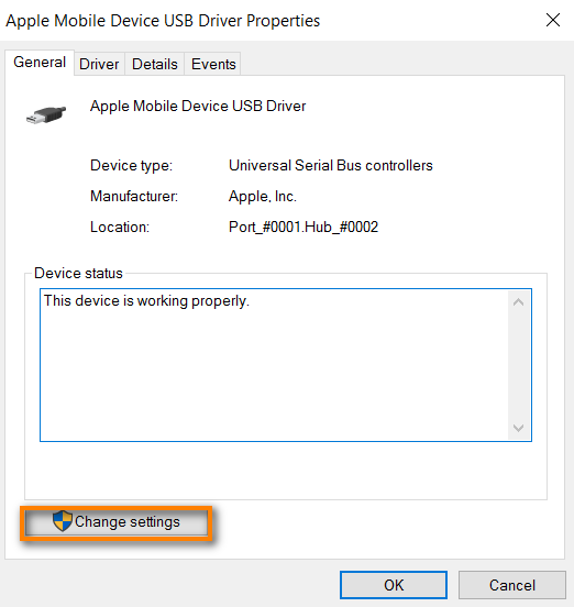 manually download apple usb device driver 423.36