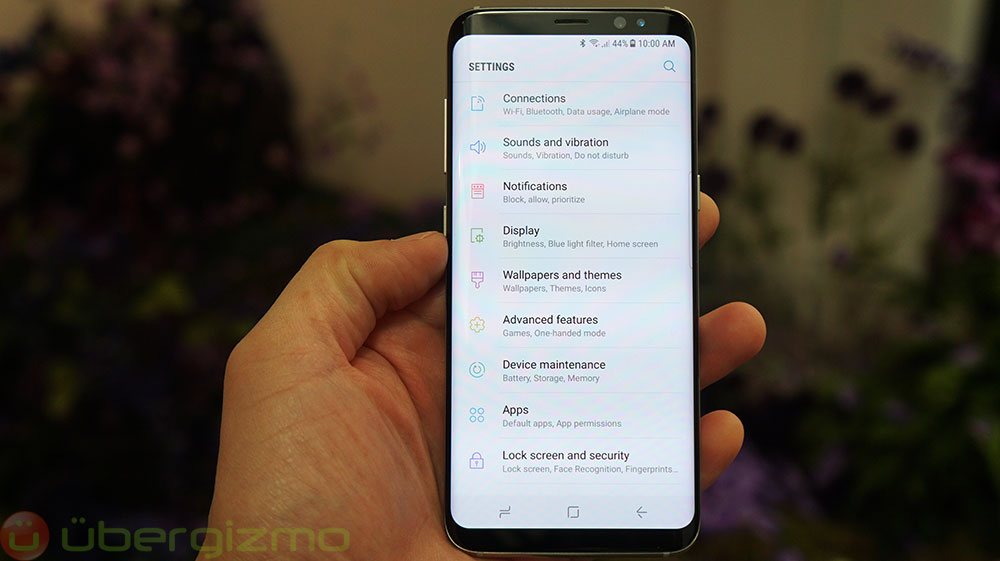 how to manually update samsung galaxy s8