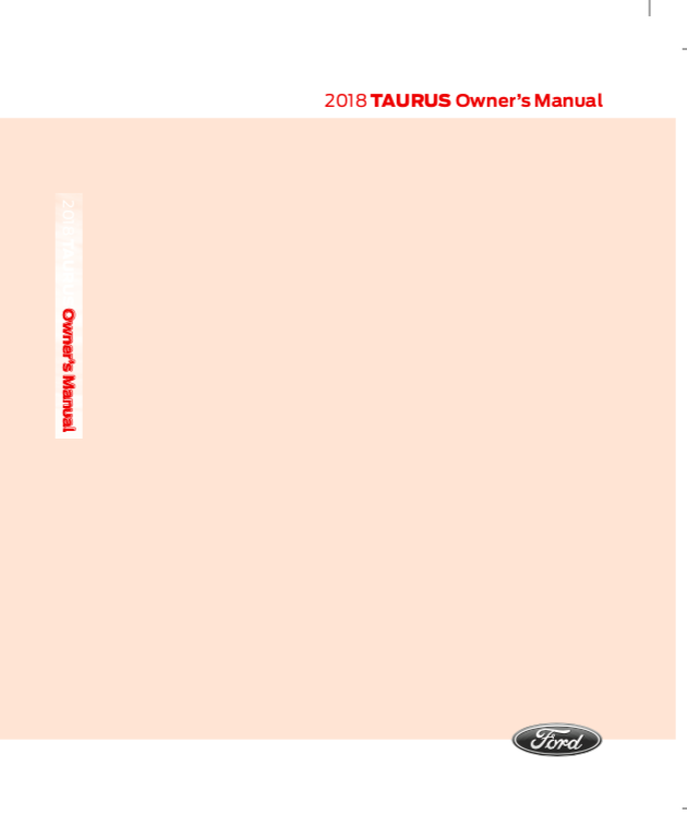 free ford taurus owners manual download